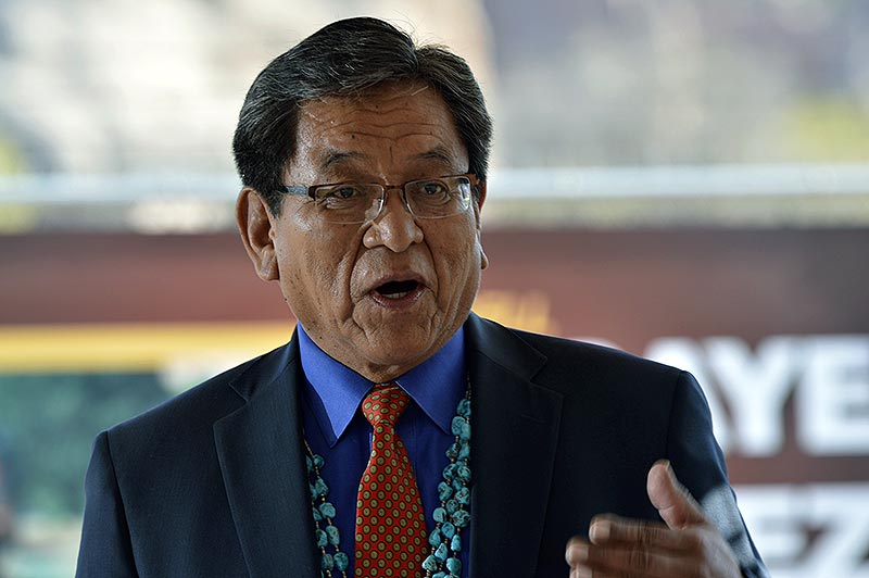 Navajo president reaffirms opposition to Escalade bill