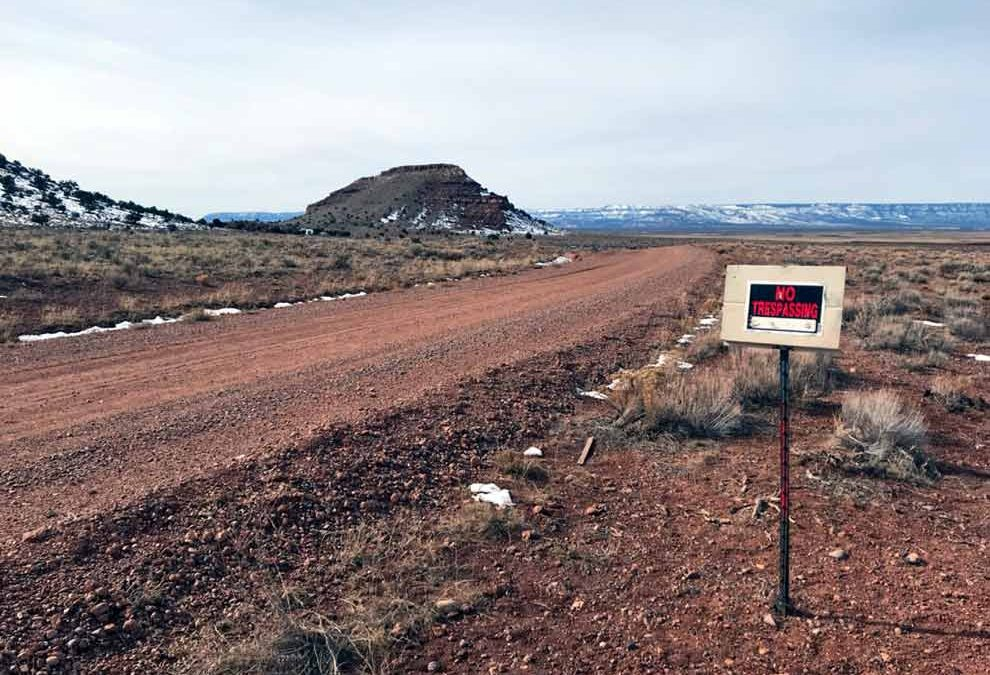 Navajo suspends back country permits in East Rim