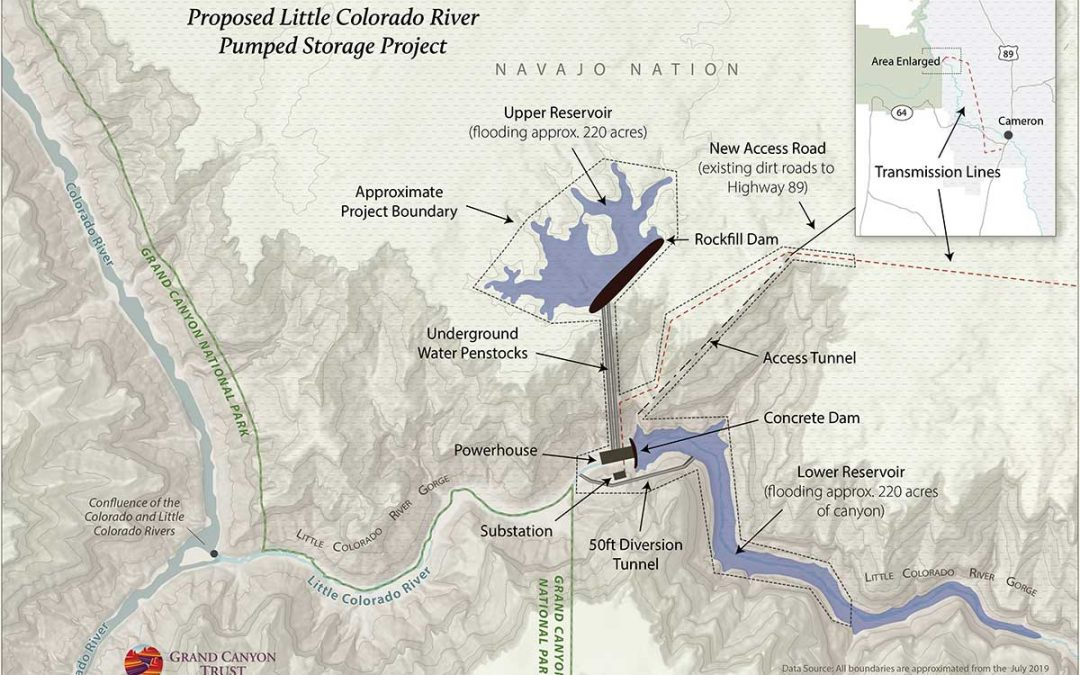 Developer seeks two dams on Little Colorado River